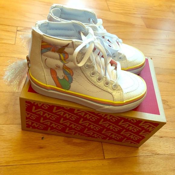 Vans Shoes   Sk8 Kids Size 11 Unicorn